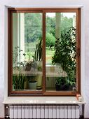 foto of hermetic  - New sliding fiberglass doors for apartment - JPG