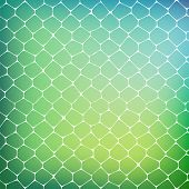 stock photo of cell block  - Abstract background of colored cells - JPG