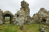 stock photo of na  - Teampall na Trianaid - Trinity Temple