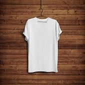 image of casual wear  - White blank t - JPG
