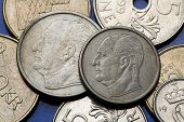 picture of king  - Coins of Norway - JPG