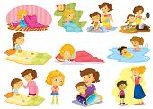 picture of storytime  - Illustration of children doing many activities - JPG