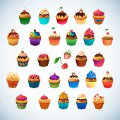picture of cupcakes  - Super cupcake pack - JPG