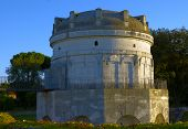 stock photo of mausoleum  - Historical mausoleum in Ravenna built by Byzantines - JPG