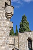 picture of filerimos  - Church of our Lady at Ialyssos monastery on the Greek island of Rhodes is built at the top of Mount Filerimos - JPG