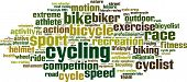 pic of unicycle  - Cycling Word Cloud Concept - JPG