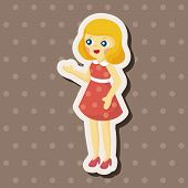 pic of baby doll  - Baby Doll Theme Elements - JPG