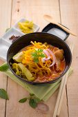 stock photo of thai cuisine  - Curried Noodle Soup  - JPG