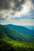 image of virginia  - View from Crescent Rock in Shenandoah National Park Virginia - JPG
