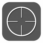 picture of crosshair  - The crosshair icon - JPG