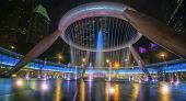 image of fountains  - Fountain of wealth is the biggest fountain in Singapore - JPG