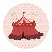 pic of circus tent  - Circus Theme Tent Elements - JPG