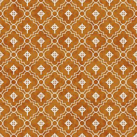 picture of celtic  - Orange and White Celtic Cross Symbol Tile Pattern Repeat Background that is seamless and repeats - JPG