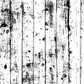 Grunge Old Wood Dirt Cover Template. Wooden Dry Planks Distressed Overlay Texture Messy Dark Knot. W poster