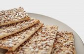 Cookies With Cereals, Healthy Cookies With Sunflower Seeds, Flax Seeds And Sesame Seeds. poster