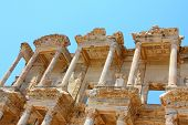picture of brothel  - Roman Library of Celsus in an antique city the Ephesus - JPG