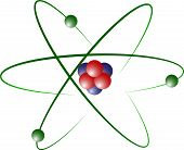 picture of neutrons  - Atom Model of Lithium with Protons - JPG