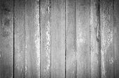Gray And White Old Wood  Plank Texture Background. Top View Of Weathered Wooden Table. Vintage Wood  poster