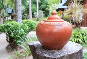 An Old Thai Earthen Jar