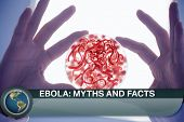 picture of flashing  - Digital composite of Ebola news flash with medical imagery - JPG