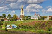 pic of paysage  - View of the city of Suzdal - JPG