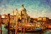 image of gondola  - Venice - JPG