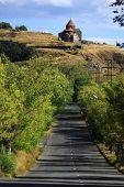 picture of apostolic  - road to the monastic complex Sevanavank in Armenia - JPG