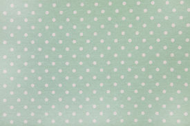 foto of poka dot  - background of green kitchen towel with poka dots - JPG