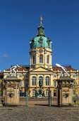 stock photo of palace  - Charlottenburg Palace is the largest palace in Berlin and the only surviving royal residence in the city - JPG