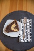 foto of lice  - Chocolate Sponge Cake with cream cheese filling - JPG