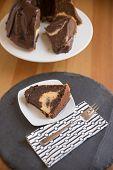 image of lice  - Chocolate Sponge Cake with cream cheese filling - JPG