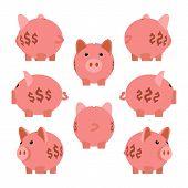 pic of piggy  - Piggy bank - JPG