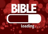 stock photo of bible story  - Progress Bar Loading with the text - JPG