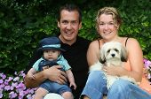 picture of baby dog  - Young family - JPG
