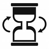 Cursor Loading Icon. Simple Illustration Of Cursor Loading  Icon For Web poster