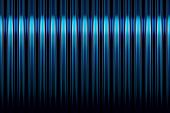 Blue And Black Stripes Gradient Background Fading To Black With Highlight poster