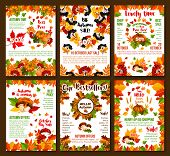 Autumn Sale Or October Seasonal 50 Percent Discount Posters For Shop Or Store Design Template. Vecto poster