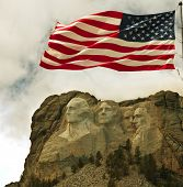 picture of mount rushmore national memorial  - Mount Rushmore - JPG