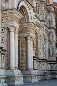 picture of carthusian  - Rich decorated church fa - JPG