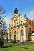 picture of church mary magdalene  - Stockholm - JPG