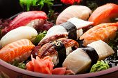 stock photo of shrimp  - Japanese Cuisine  - JPG
