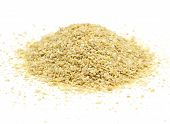 picture of potash  - A pile of soybean meal an ideal organic fertilizer - JPG