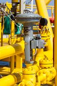 image of plc  - Control valve in oil and gas process - JPG