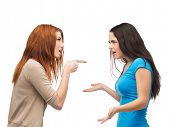 stock photo of yell  - bullying - JPG