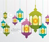 foto of pelita  - Vector Muslim Oil Lamp Graphics - JPG