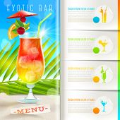 picture of booklet design  - Booklet template with infographic elements  - JPG