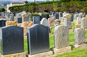 foto of north star  - Old Jewish cemetery in North California  - JPG
