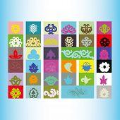 picture of tatar  - Tatar ornament motif  - JPG