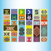 image of tatar  - Tatar ornament motif  - JPG