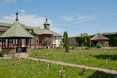 image of suceava  - Slatioara Monastery in Bucovina - JPG